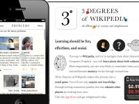 Three Degrees of Wikipedia