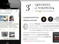 Three Degrees of Wikipedia