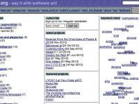Archivio di software art