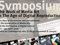 The Work of Media Art in The Age of Digital Reproduction