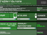 (re)distribution: wireless art